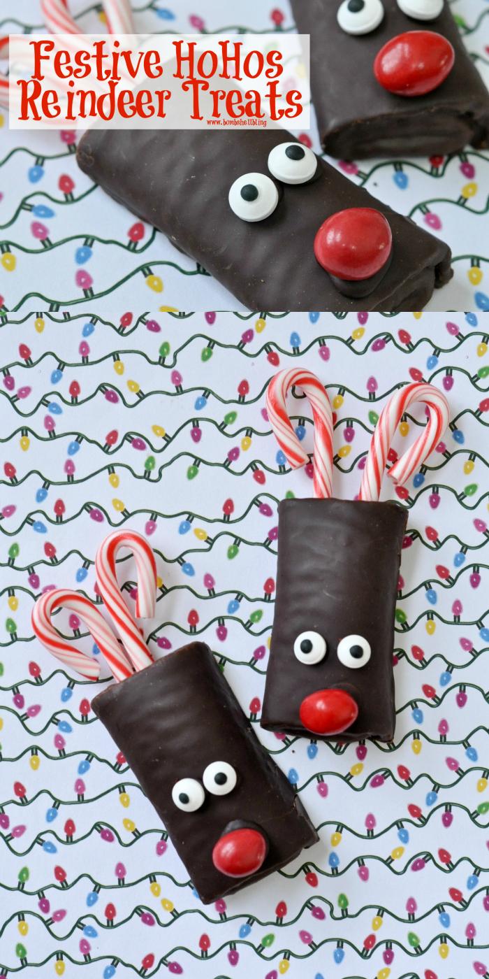 Festive HoHos Reindeer Treats on Bombshell Bling