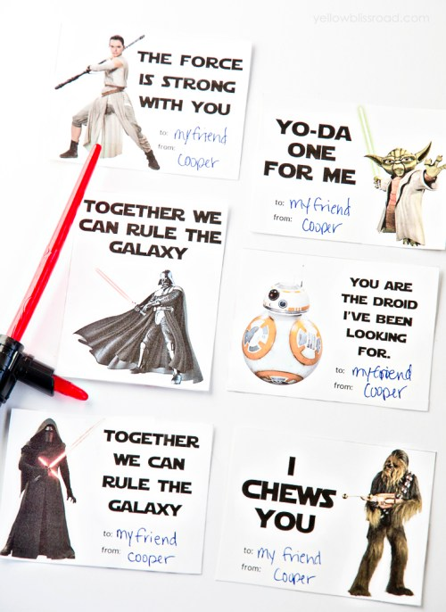 *Printable-Star-Wars-Valentines