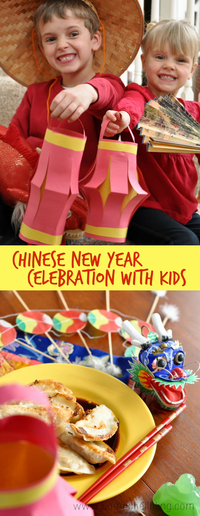 This Chinese New Year paper lantern kid craft is the perfect way to celebrate as a family! Pair this fun activity with some delicious dumplings!