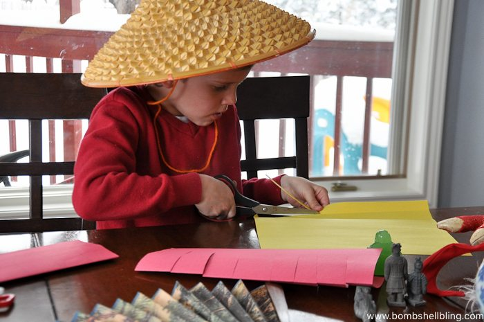 Chinese New Year Lantern Kid Craft-2