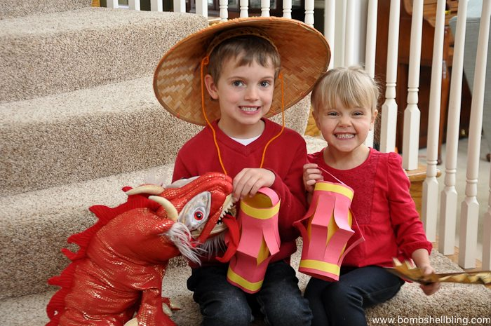 Chinese New Year Lantern Kid Craft-7