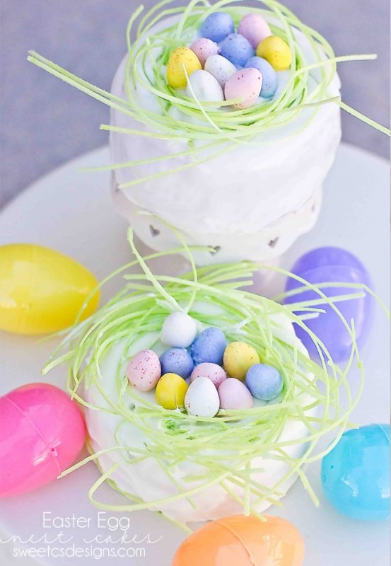 Easter-egg-nest-cakes-how-cute-And-your-kids-can-decorate-them-too1