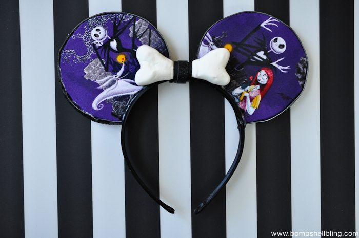 Jack Skellington Mouse Ears -10