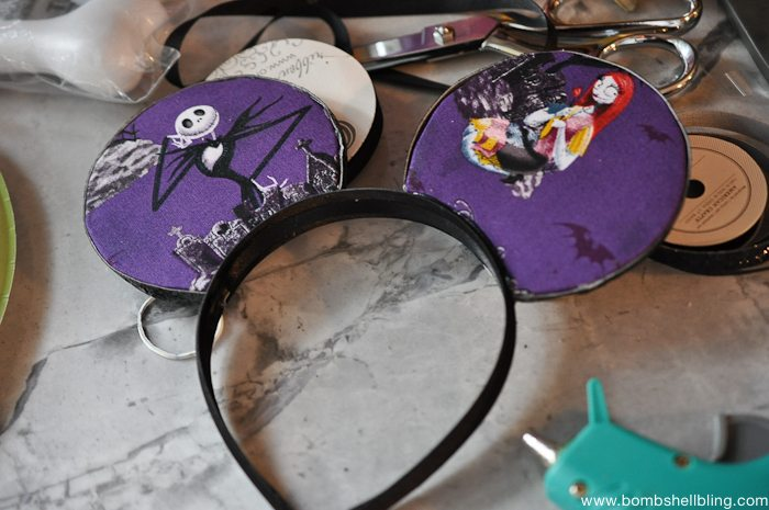 Jack Skellington Mouse Ears -6