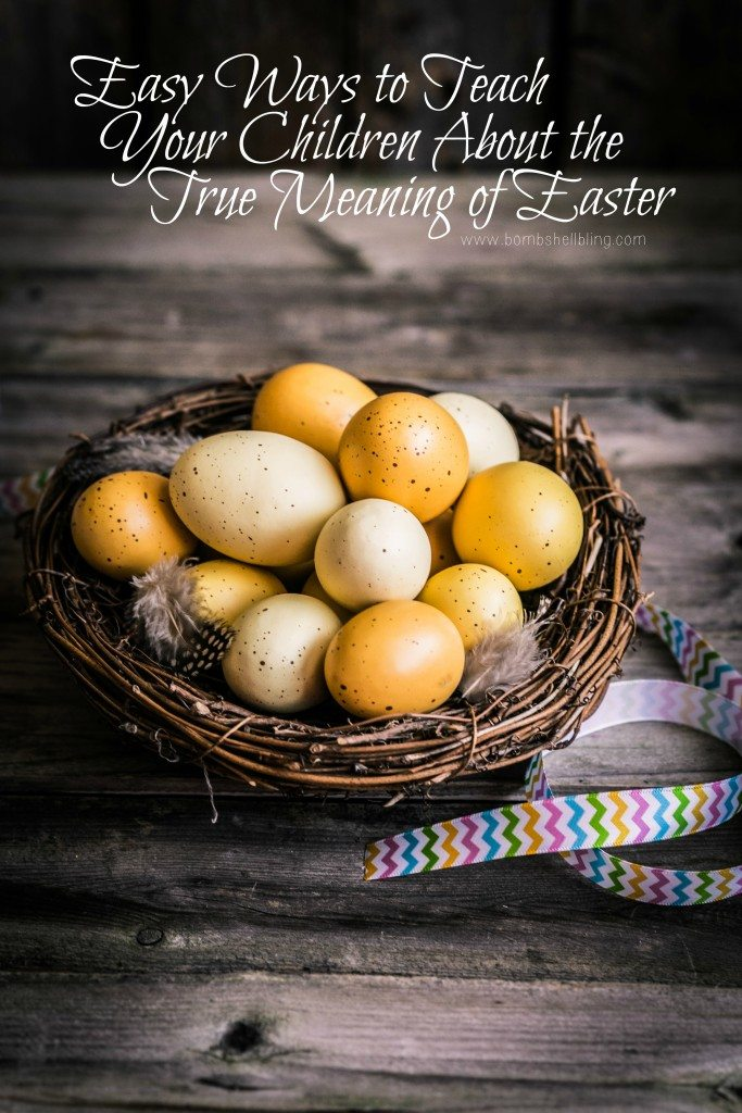 Teach your children about the true meaning of Easter with these simple yet meaningful ideas that are sure to bring the Spirit of Christ into your home.