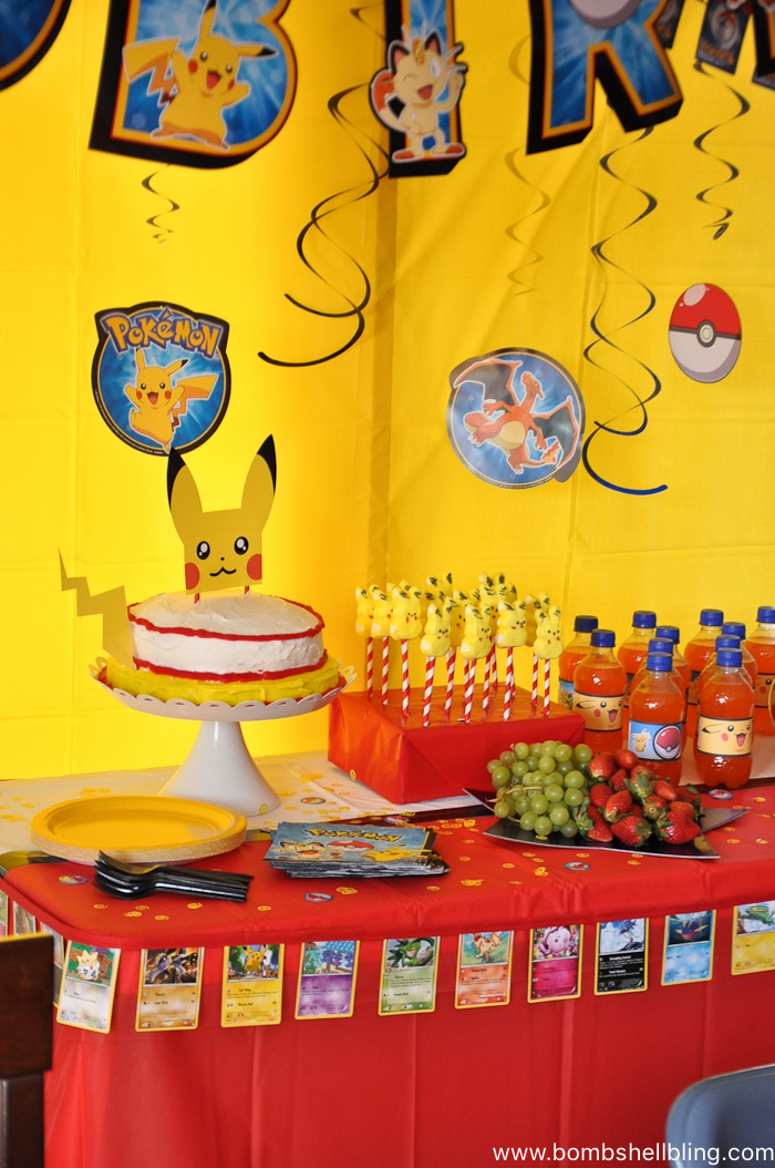 Pokemon Birthday Party-10