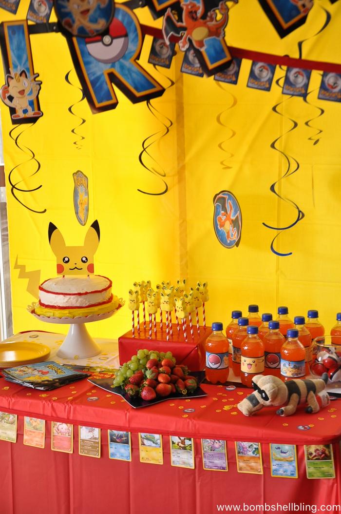 Pokemon Birthday Party-11