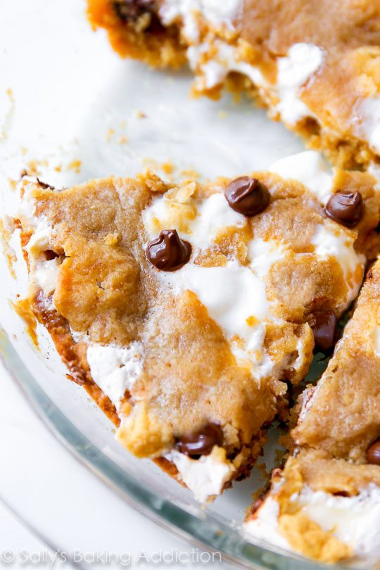 SMORES-Chocolate-Chip-Cookie-Cake-recipe-soft-baked-and-ready-for-you-to-dig-in-2