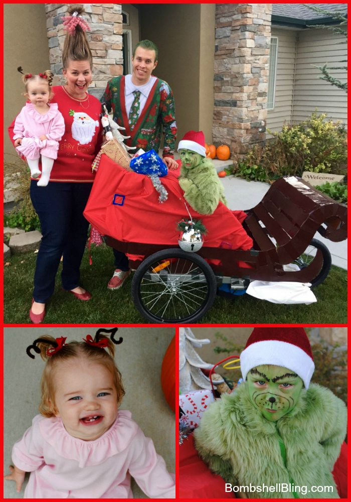 Grinch Family Halloween Costumes