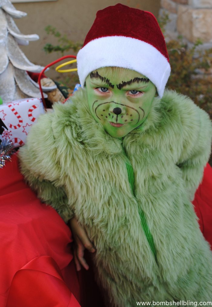 Grinch Halloween Costume--Bombshell Bling