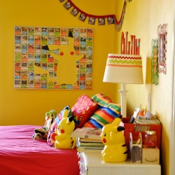 Pikachu Art for a Pokemon Bedroom