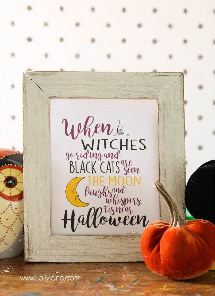 Halloween printables Halloween is near