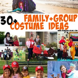 30+ Family & Group Costume Ideas