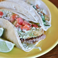 Fried Avocado Tacos Recipe