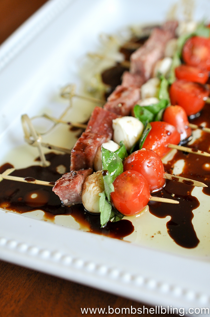 Small Skewers Appetizers