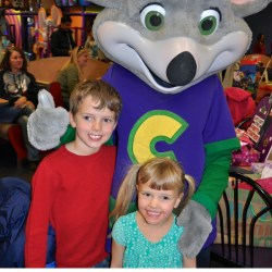 Chuck E. Cheese Birthday Party