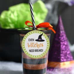 Cute Halloween Gift: Witch Drink Cup
