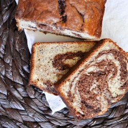 Chocolate Banana Swirl Bread