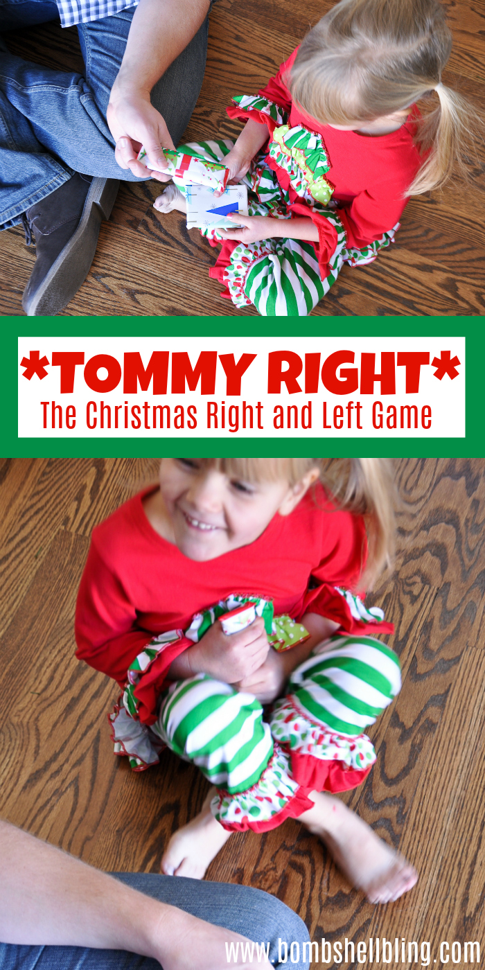The Christmas right and left game is perfect to play with your family this holiday season. It is a great holiday tradition to enjoy every year.