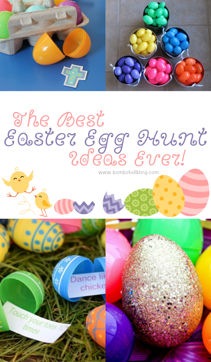 These Easter egg hunt ideas are sure to make your Easter a little bit more fun! Traditional ideas, printables, ideas for teens, religious ideas, non candy ideas, and more!