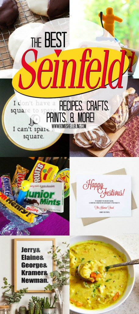 The Best SEINFELD Recipes, Crafts, Printables & More!