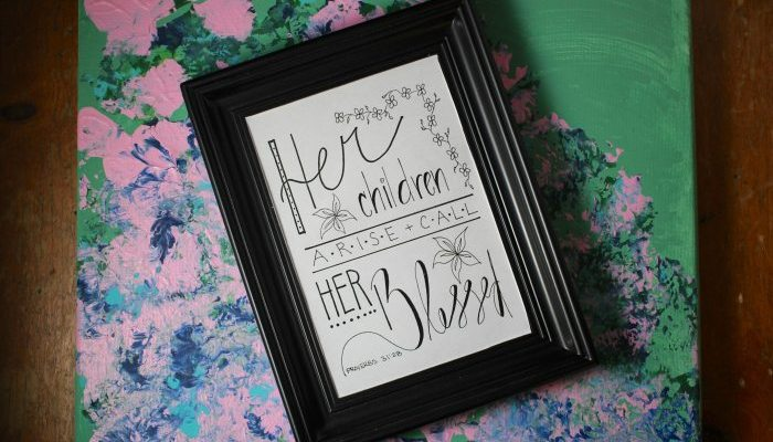 Her Children Call Her Blessed Printable