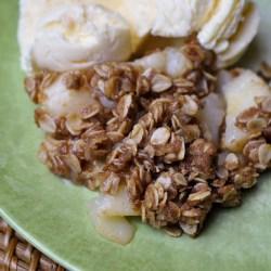 Pear Crisp Recipe