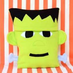 Fleece Frankenstein Pillow Tutorial