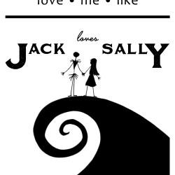 Jack and Sally Printable