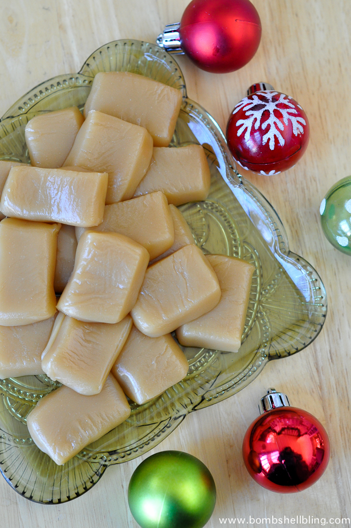 Make some of my granny's Christmas caramels to delight your friends and neighbors this year!  Smooth and chewy, they are a perfect treat!