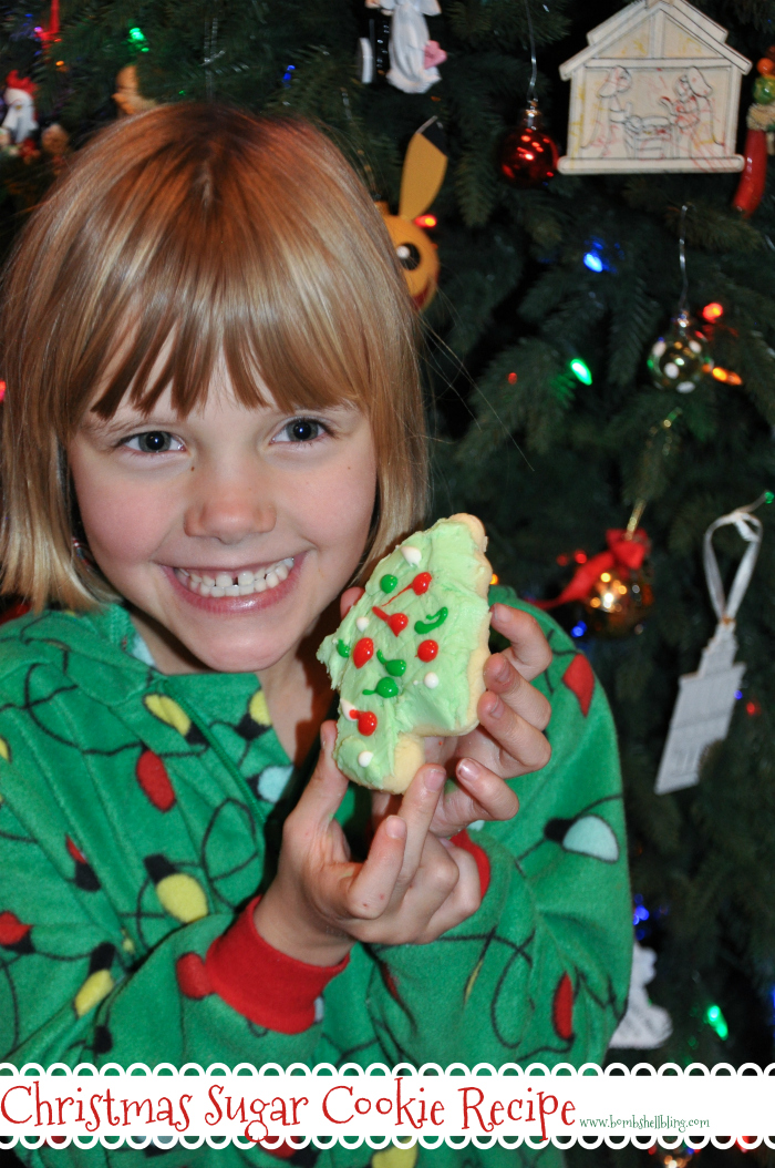 These Christmas sugar cookies are fun for the whole family to make and SOOOO yummy!