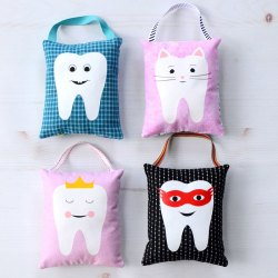 Tooth Fairy Pillow Sewing Tutorial with Free Cut File