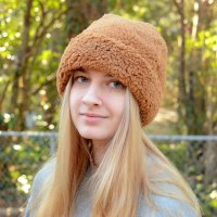 Easy Fleece Cuffed Beanie – Free Sewing Pattern