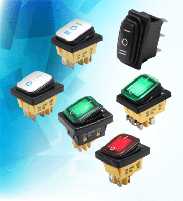 Waterproof Rocker Switch bn