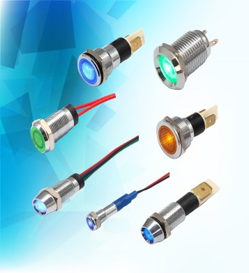 Metal Indicator Light