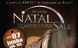 Divulgada a data do VII Natal Quarter Horse Sale