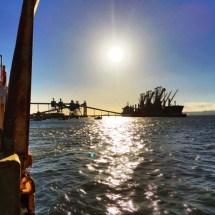 Industrial Trafalia from boat