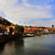Porto Gondola from distance