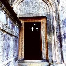tatev-church-entrance-cross-windows