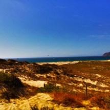 Guincho Beach in distance