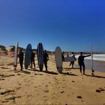 Peniche Surfers Pose for camera2