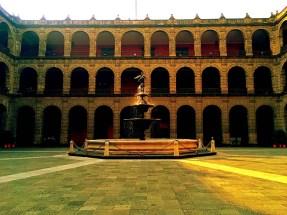 National Palace courtyard fountain