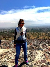 Top of Pyramid of the Sun