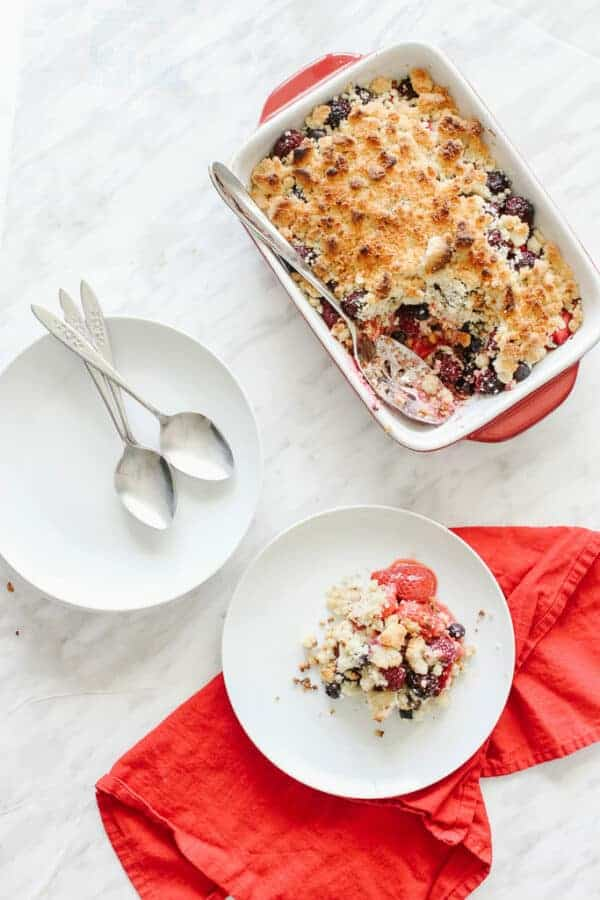 Summery Berry Crumble