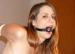 Beautiful Young Girlfriend Gets Restrained and Gagged for Domination