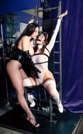 Bondage Queen Ashley Renee Bound and Dominated by a Hot Young Mistress