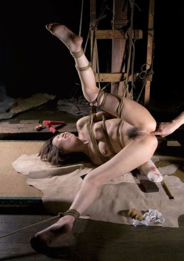 Gorgeous Asian Gets Tightly Bound and Penetrated Hard for Domination