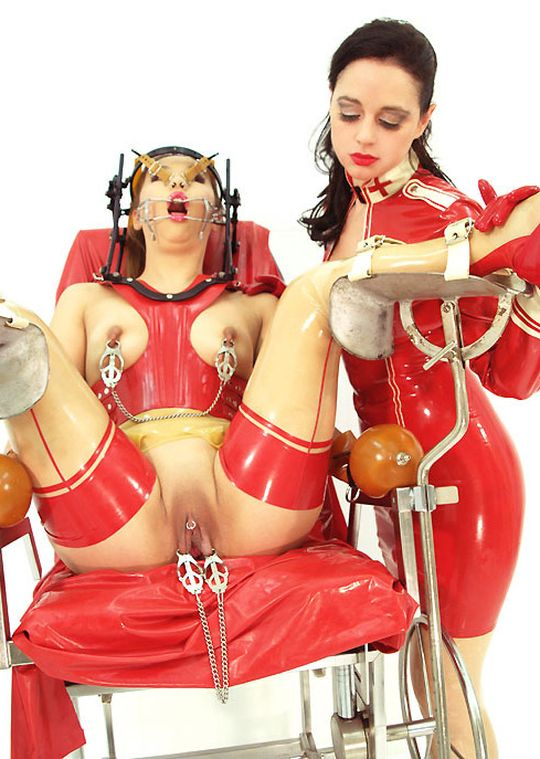 Gorgeous Young Asian Gets Humiliated Hard by Her Mistress in Latex