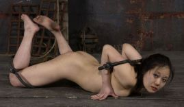 Hot Asian Stripped, Tortured and Humiliated Hard in Dungeon