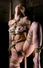 Hot Petite Asian Gets Stripped, Tightly Bound and Tortured for Fun